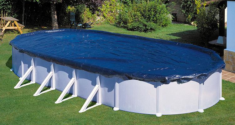 Hibernacion piscinas desmontables invernaje para piscinas for Cubierta piscina desmontable