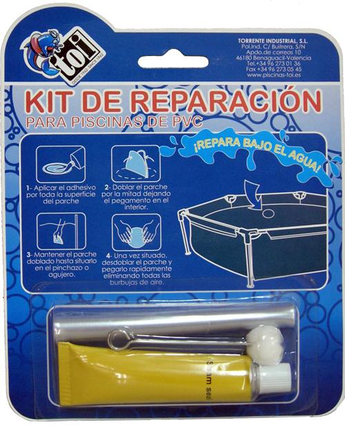C mo reparar liner fugas y pinchazos piscinas desmontables - Parches para piscinas desmontables ...