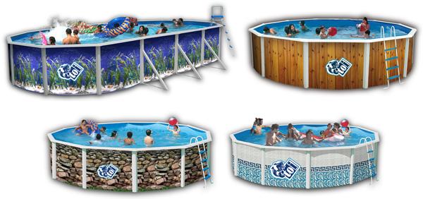 Piscinas decoradas piscinas decorativas for Los mejores modelos de piscinas