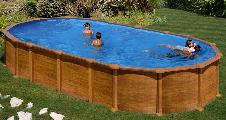 Piscinas decoradas piscinas decorativas - Piscinas tubulares alcampo ...