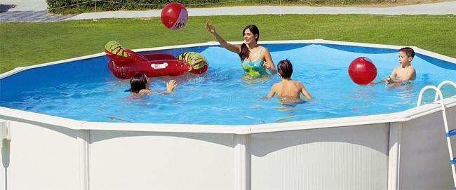 Piscinas plasticas grandes piscinas hinchables piscina for Cuanto sale hacer una pileta de material