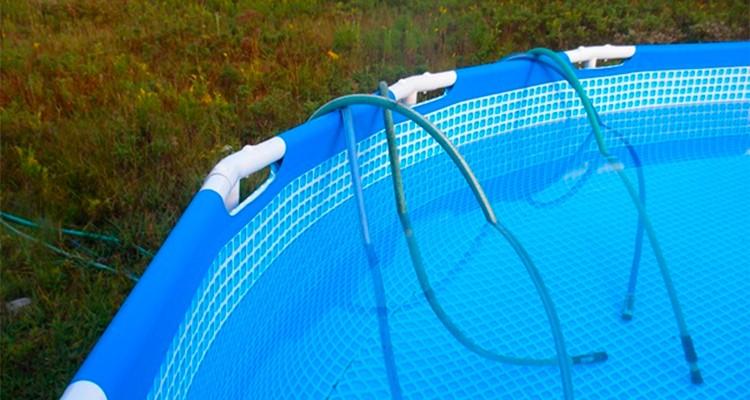 Como vaciar una piscina desmontable sin bomba for Piscina lona rectangular