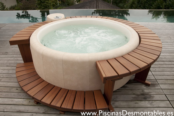 jacuzzi exterior hinchable best spa hinchable montana with jacuzzi