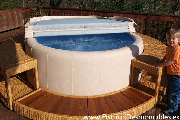 Jacuzzi Exterior Inflable. Beautiful Jacuzzi Inflable Baikal With ...