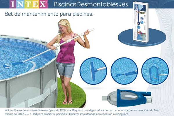 Piscinas intex diversi n y buen precio for Accesorios piscinas intex