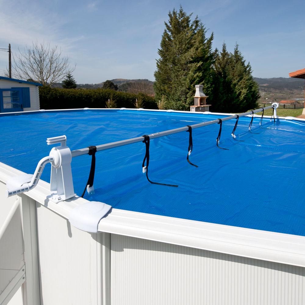 Enrollador piscina desmontable para cubiertas isot rmicas for Cobertores para piletas