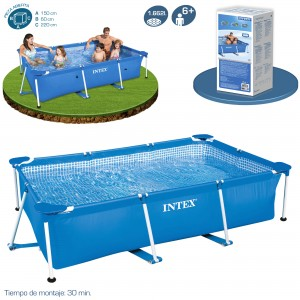 Outlet piscinas tubulares piscinas desmontables for Piscina estructural intex