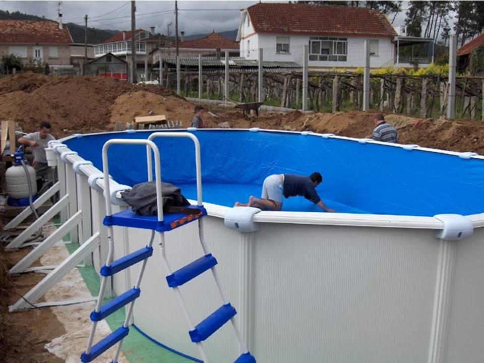 Como enterrar una piscina desmontable for Goedkoop inbouw zwembad