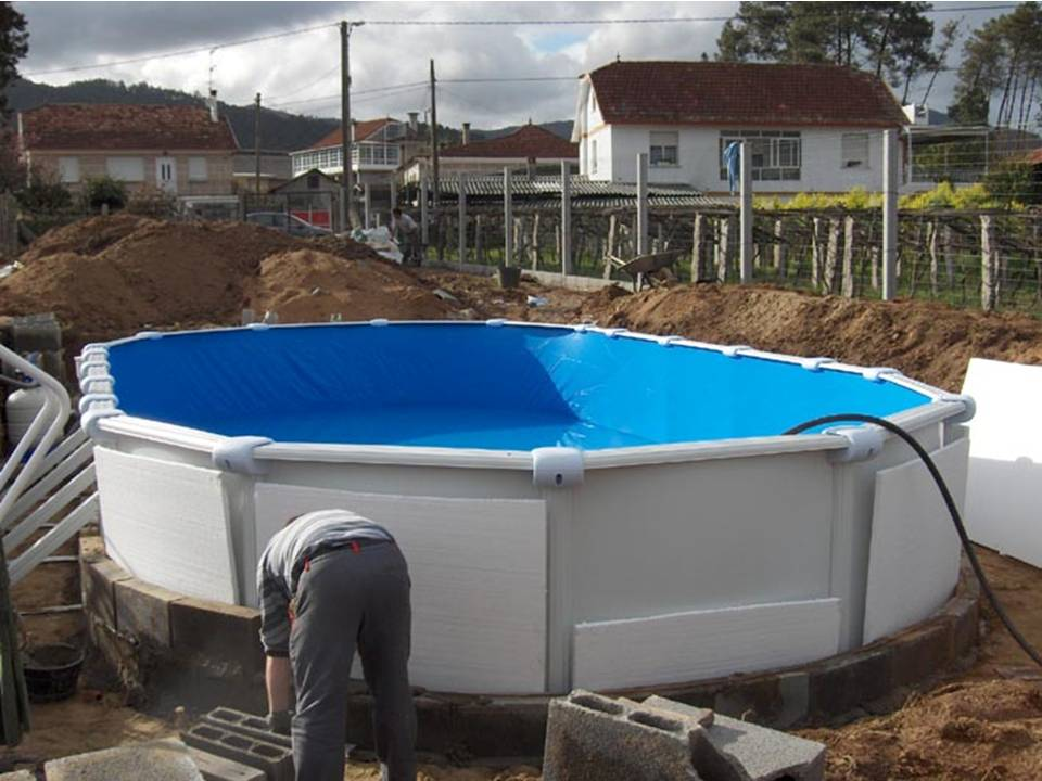 Como enterrar una piscina desmontable for Piscinas segunda mano