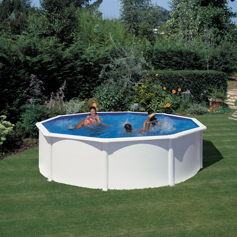 Piscina gre 460x120 serie fidji kit460eco piscinas for Piscinas desmontables gre