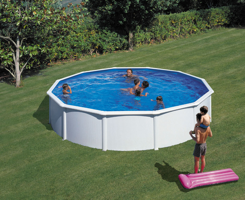 Piscina gre 550x120 serie fidji kit550eco piscinas for Piscinas desmontables gre