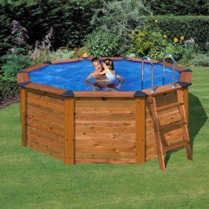 Piscina gre terra pools cannelle 551x351x119 piscinas for Piscina fuori terra 400x200x100