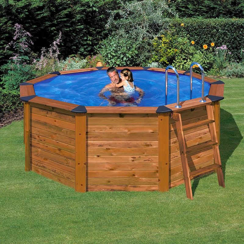 Piscina gre 390x120 serie island kitnp352a piscinas for Piscines demontables