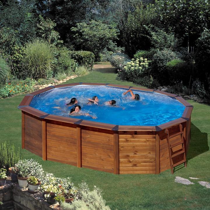 Piscina gre 640x425x132 serie hawaii kitnpov611 piscinas for Piscines demontables