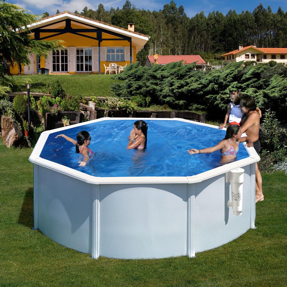 piscina desmontable acero segunda mano