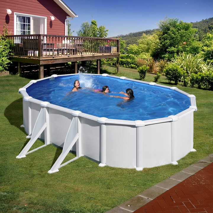 Piscina gre 610x375x132 serie atlantis kitprov618 for Piscinas desmontables