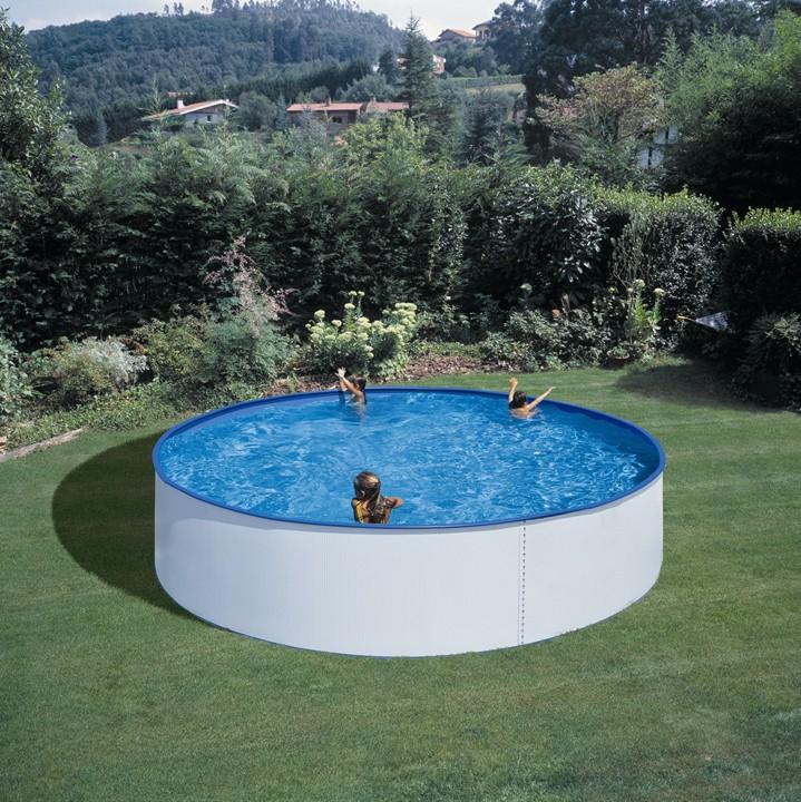 Piscina gre 350x90 serie lanzarote kitwpr352e piscinas - Piscinas redondas desmontables ...