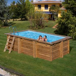 Outlet piscinas de madera piscinas desmontables for Piscine hors sol 2m de large
