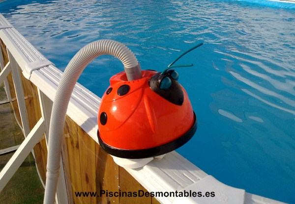 Limpiafondos autom tico mariquita hayward magic clean for Limpiafondos piscina desmontable
