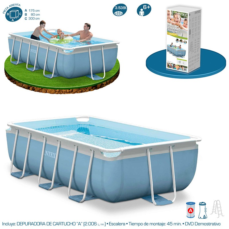 Outlet piscinas tubulares piscinas desmontables for Piscinas desmontables tubulares