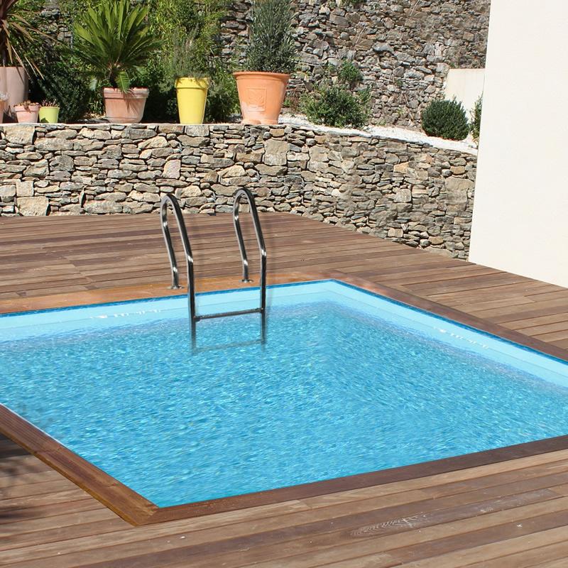Outlet piscinas de madera piscinas desmontables for Piscinas portatiles cuadradas