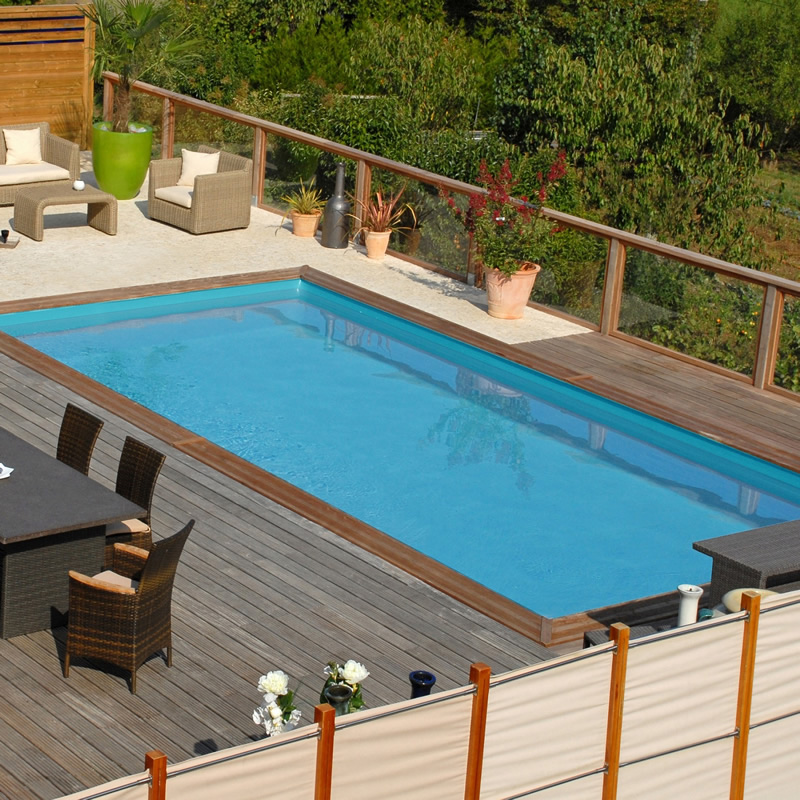 Outlet piscinas de madera piscinas desmontables for Piscinas desmontables enterradas