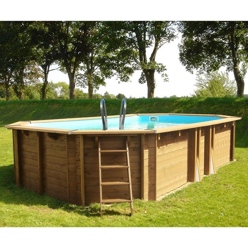 Outlet piscinas de madera piscinas desmontables for Piscine en bois hors sol leclerc